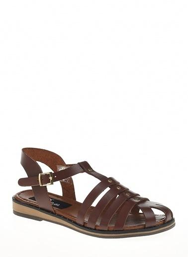 Derigo Taba Kadın Sandalet 521237 Taba
